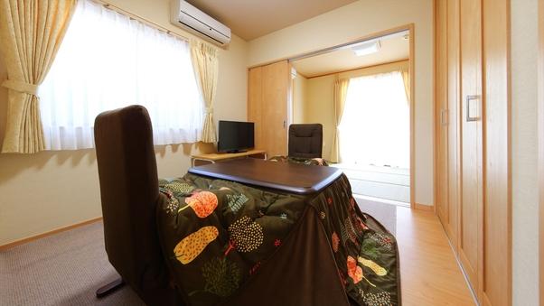 【ひまわり・鈴蘭】温泉岩風呂付離れ:6畳+4.5畳和洋室