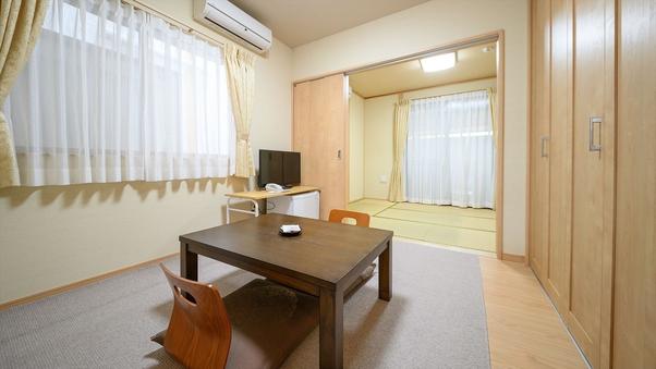 【白ゆり・あかね荘】温泉岩風呂付離れ:6畳+4.5畳和洋室