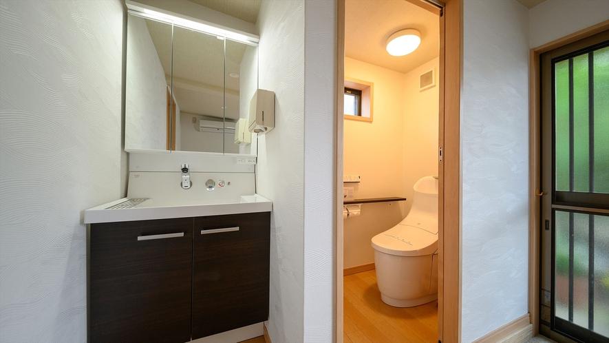 ●れんげ荘 トイレ洗面