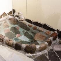 ●白ゆり荘 客室露天風呂
