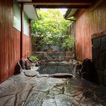 ●鈴蘭 客室露天風呂