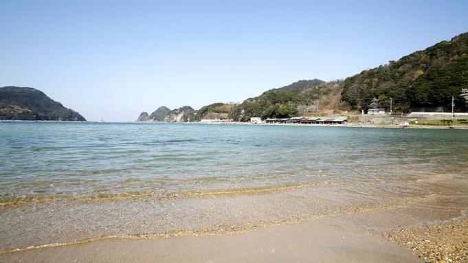 【夏期間限定】ビーチまで10秒!地元の鮮度抜群「海の幸」会席♪【1泊2食付】