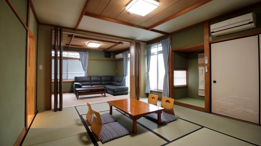 広々とした和洋室になっています