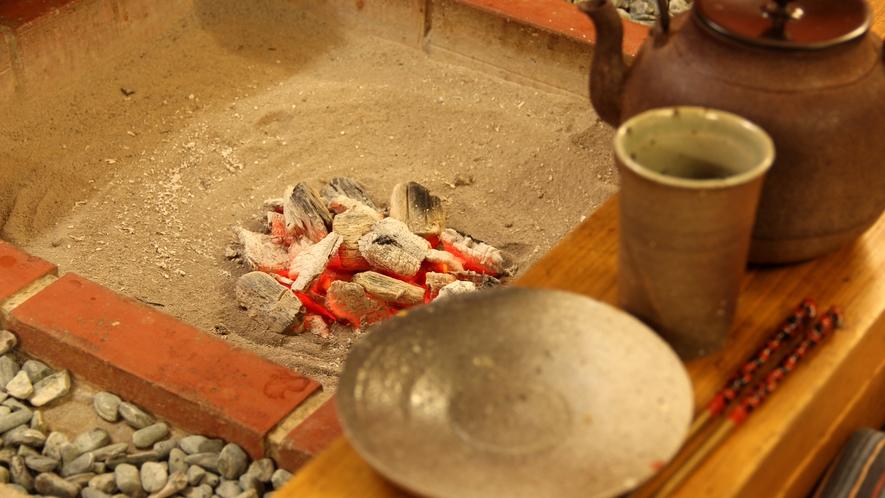囲炉裏イメージ