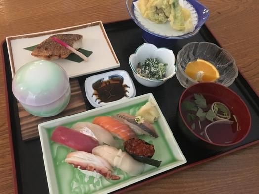 【2食付】選べる朝食/寿司御膳・竹☆夕食の2食付きプラン