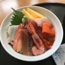 朝食・日替わり海鮮丼