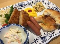 朝食・洋食プレート