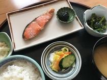朝食・焼魚定食