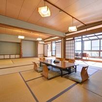 *和室20畳(客室一例)/グループや大家族でのご宿泊に。長崎観光の拠点にご利用下さい。