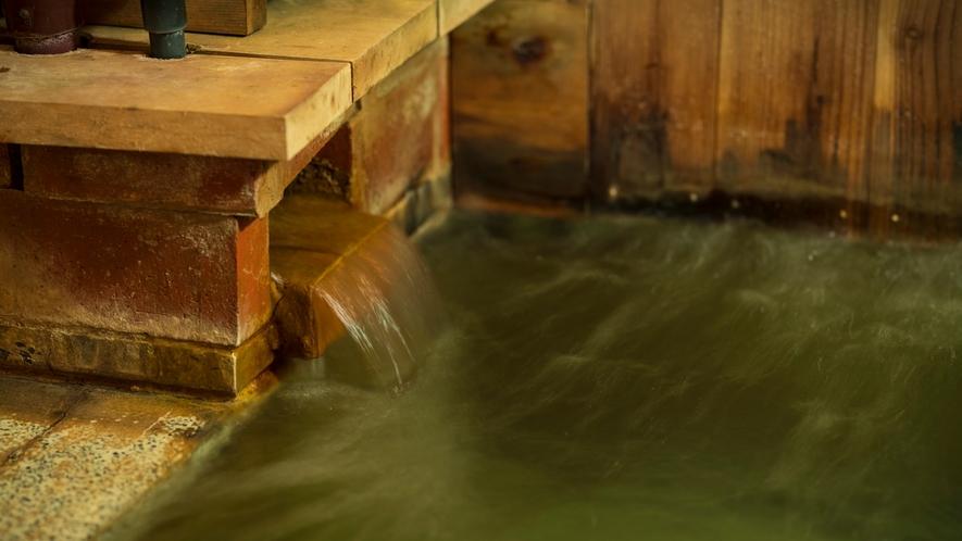 *【大浴場】温泉ツウの地元客も太鼓判を押す泉質!