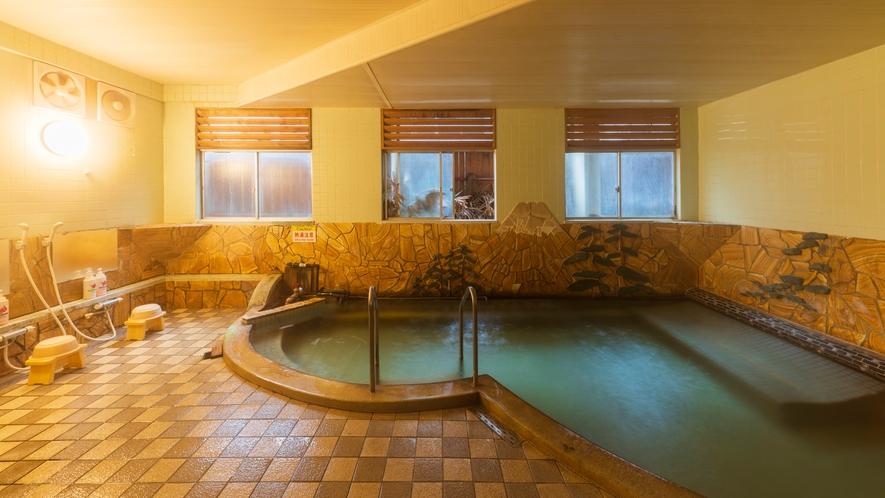 *【大浴場】小浜温泉きっての名湯をゆるりと