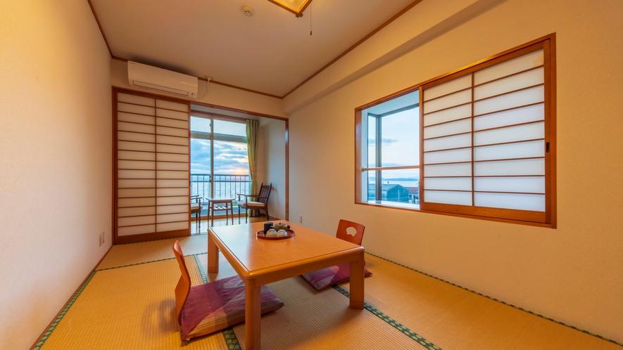 *【客室一例:和室6~7.5畳】一人旅やカップルでのご宿泊に◎!