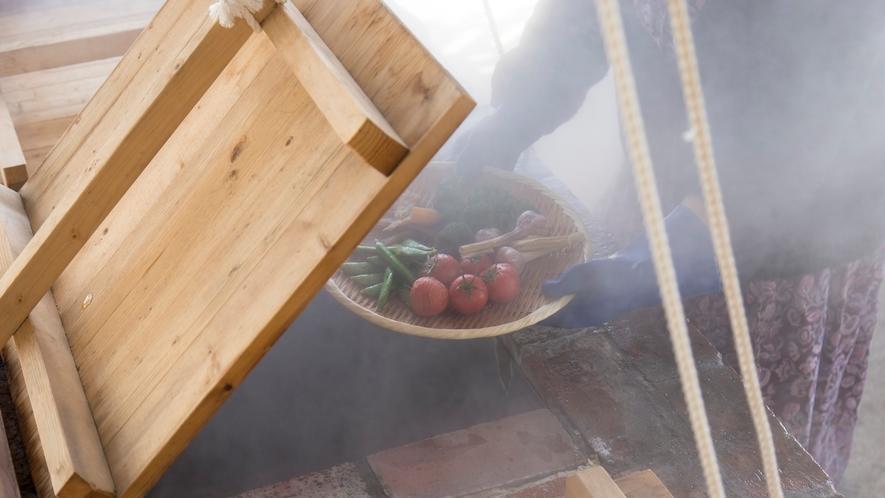 *【蒸し料理】出来立てアツアツを召し上がれ♪