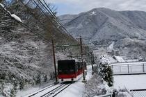 箱根 周辺観光 雪列車