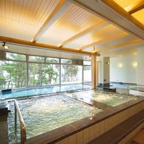 *日帰り入浴施設「スパ月美」大浴場(男湯 ジェットバス・バイブラバス)*利用有料