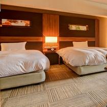*ホテル棟 3階角部屋(客室一例)