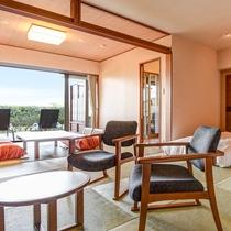 *ホテル棟 1階客室(客室一例)