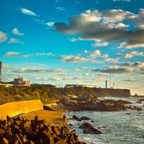 *周辺景観 銚子 朝の海