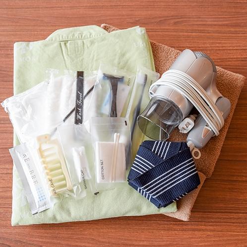 *客室アメニティ/タオル・浴衣は客室に用意しております