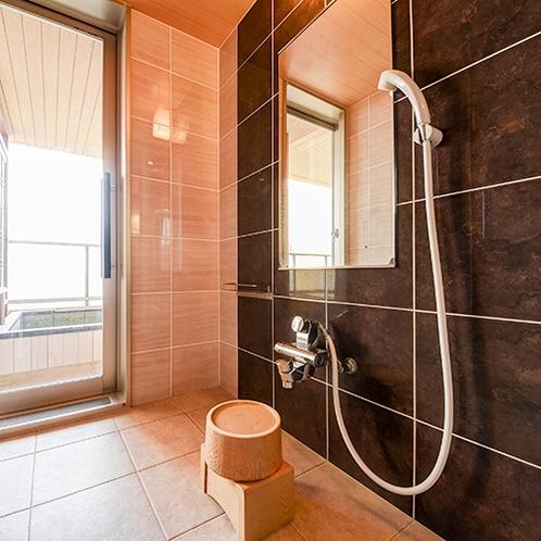 *ホテル棟客室/シャワーブース(客室一例)