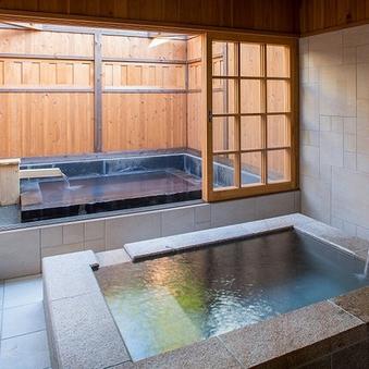 B1【和室6畳+寝室+内風呂・露天風呂】