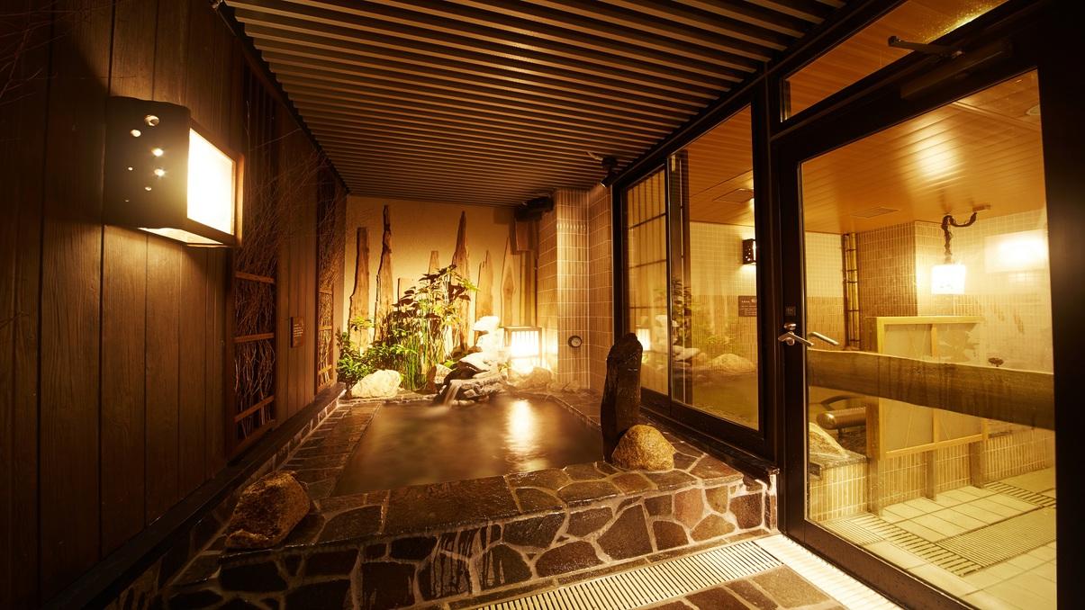 ■女性大浴場(外湯)湯温41〜42℃