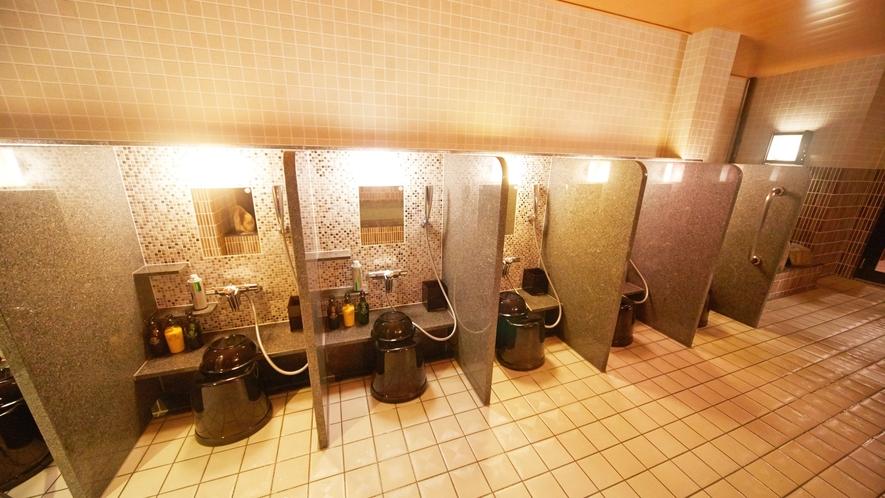 ■大浴場 カラン(男女各7か所)