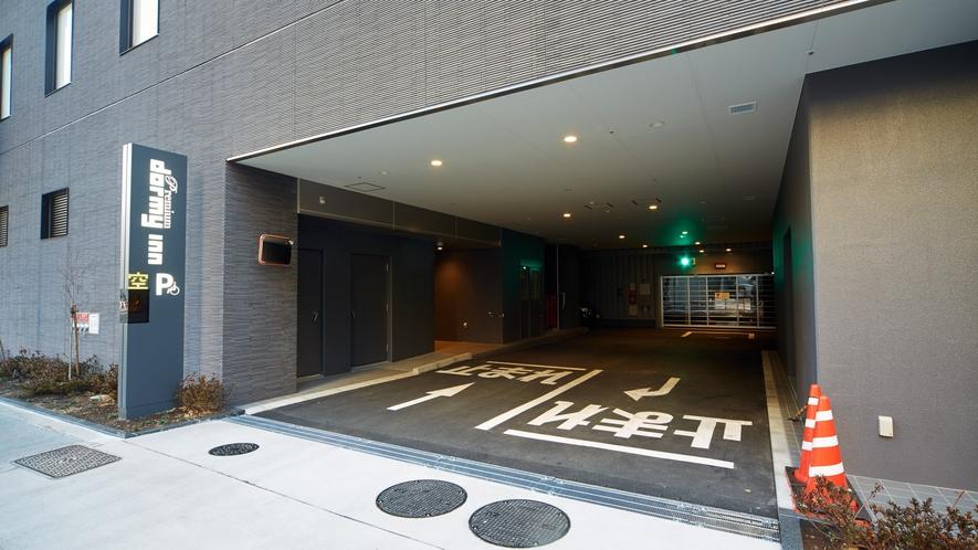 ■立体駐車場入口
