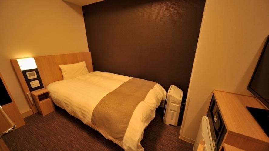 ◆コンパクトシングルルーム【禁煙・喫煙】11.8平米 ベッドサイズ100×195センチ