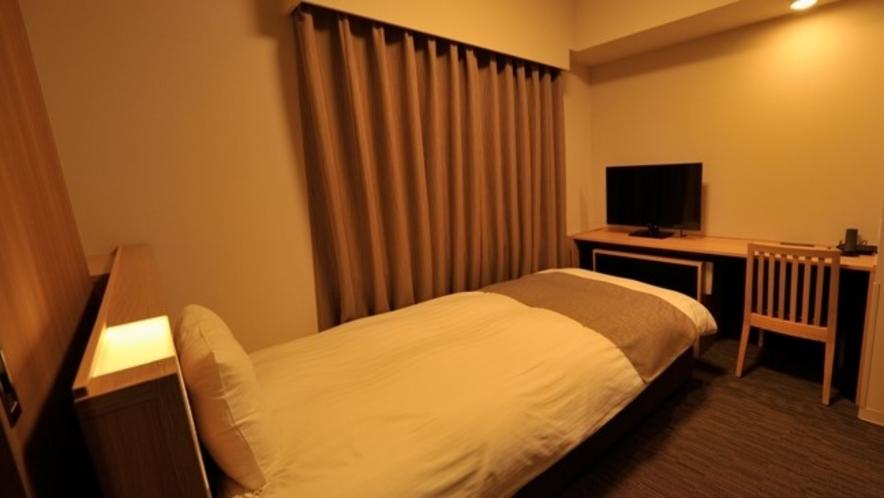 ◆シングルルーム【禁煙・喫煙】13.2~15.0平米 ベッドサイズ100×195センチ