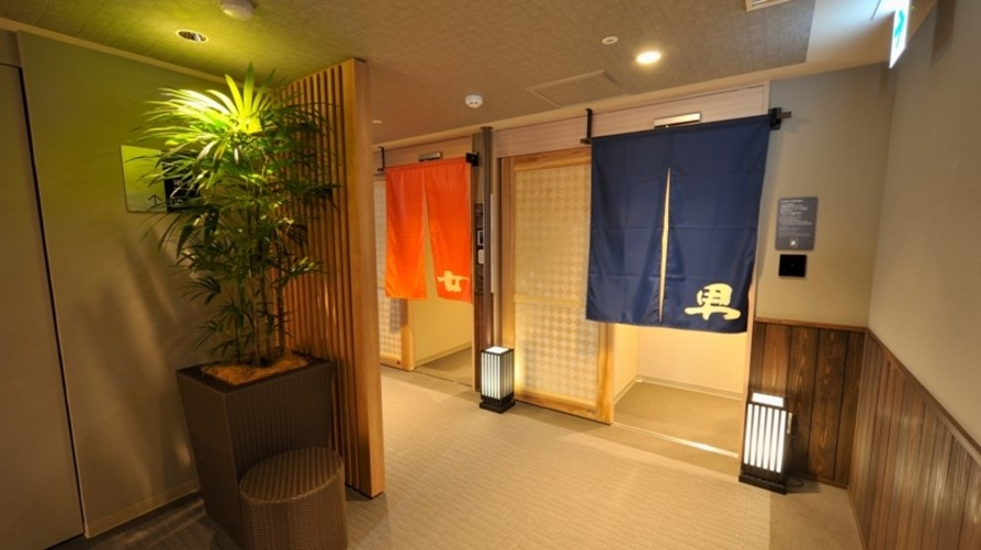 最上階大浴場『徒士の湯』 【営業時間】15:00~翌10:00