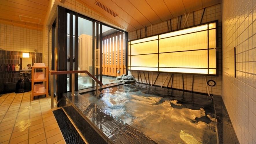 【女性】内湯(41℃) ※超軟水風呂