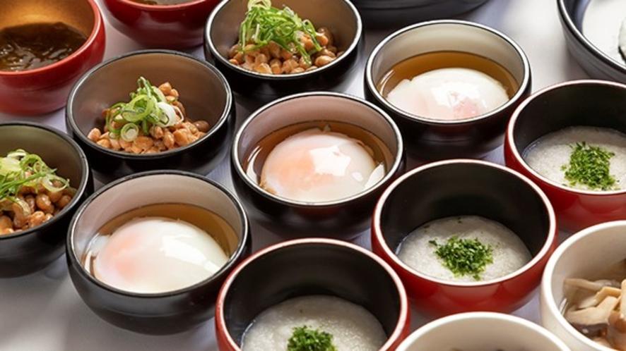 朝食 選べる小鉢(イメージ)