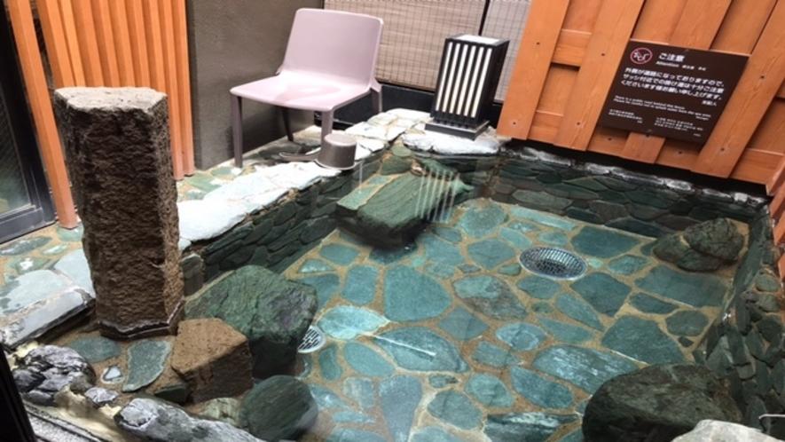 女性大浴場露天風呂ととのい椅子(1脚)