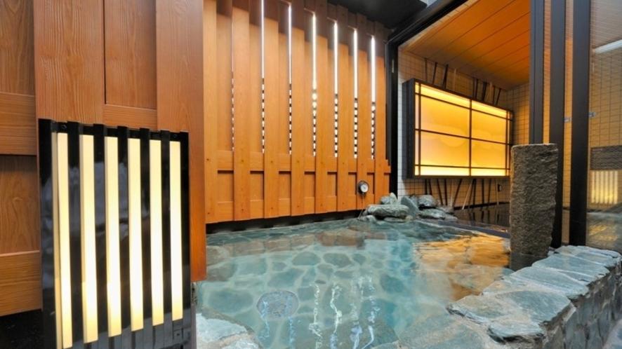 【女性】露天風呂(42℃) ※超軟水風呂