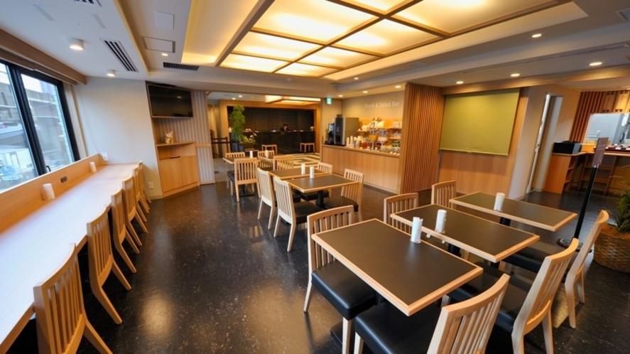◆レストラン店内/感染症対策の為席数を減らしております(席数:18)