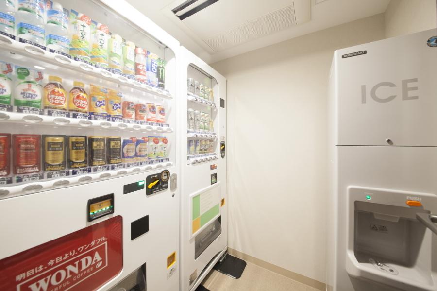 自動販売機、製氷機(2階)