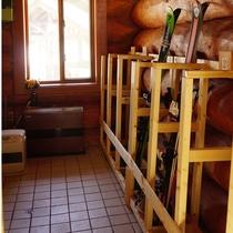 ■乾燥室があるので冬はスキー板もすぐ乾かせます