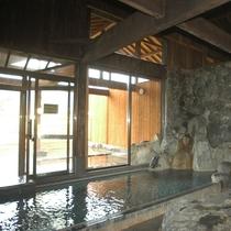 ■北アルプスの眺望とやわらかなお湯が楽しめます(みみずくの湯)