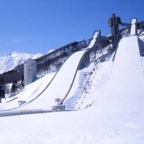 ■冬のジャンプ競技場