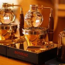 ■サイフォンで入れるコーヒーはひと味違います