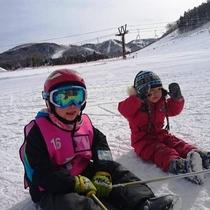 お子様も安心のスキースクール♪