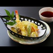■【お食事一例】季節の天麩羅