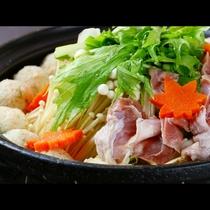 ■【お食事一例】名物・シャモ鍋