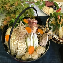 ◆選べる鍋プラン(しゃも鍋)4~5人前です