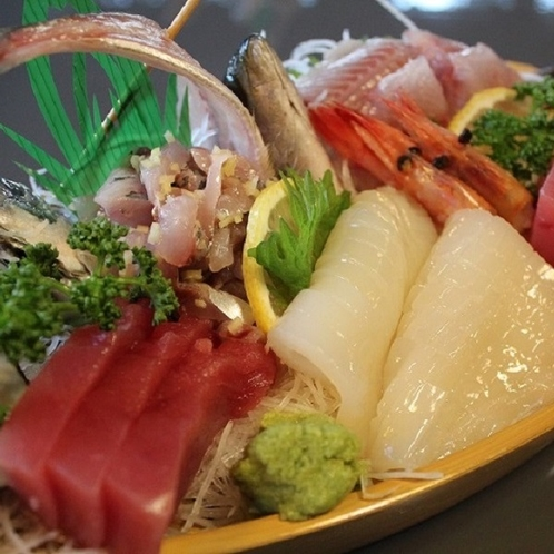◆伊豆の新鮮魚介の舟盛