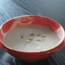 ◆じゃがいもと豆乳のスープ