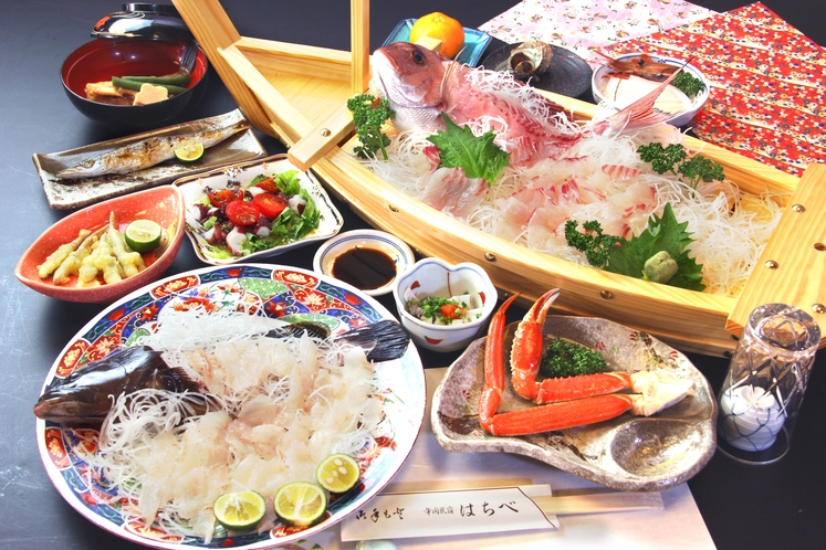 クエのフルコース!日本海では珍しいですよ♪
