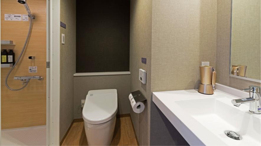 シングルルーム/セミダブルルーム/エコノミーツインルーム(お手洗い&シャワーブース)