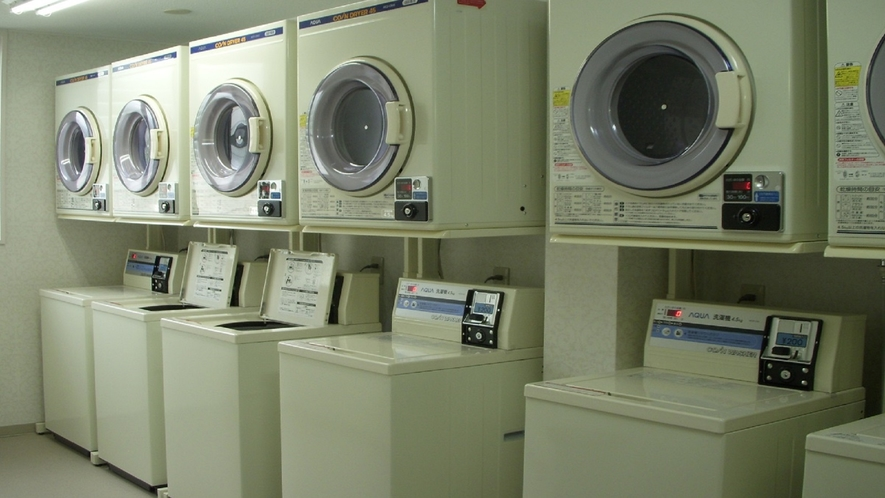 コインランドリー 洗濯200円・乾燥30分100円